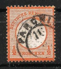ALEMANIA / GERMANY REICH - Mi. 14, USED  (90% DISCOUNT Cat.)