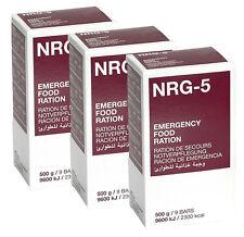 NRG-5 Notration, Notverpflegung, Langzeitverpflegung, 3x500g
