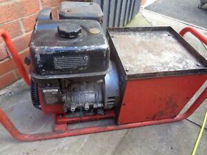 Petrol  Generator /  welder Haverhill 2kva 110 volt  inc cables 07826627066