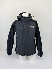 Men's Vintage The North Face Black Grey Hyvent Waterproof Hooded Jacket | M |A15