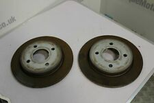 Ford Fiesta ST MK7 Rear brake discs PAIR