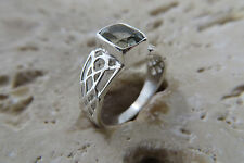Size 7, Size N 1/2, Size 54, PERIDOT Ring in solid 925 STERLING SILVER  #0010