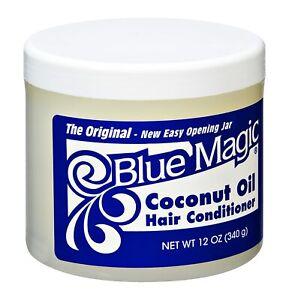 Blue Magic Coconut Oil Hair Conditioner 340 g 12oz NEW