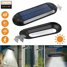 18 LED Waterproof Solar Power Dusk to Dawn Light Outdoor Yard Garden Wall Lamp