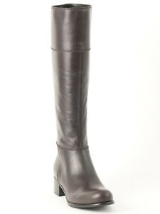 New  Miu Miu by Prada  Brown Leather  Boots Size 36 us 6