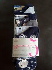 M&S ladies socks new in pack size 3-5