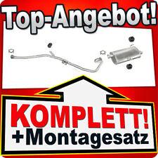Auspuff PEUGEOT 206 2.0 HDI Kombi SW 2002-2006 Auspuffanlage 848