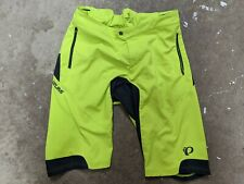 XXL 215452 Pearl Izumi BMC Trailcrew Veer Mountain Bike Short With Liner Lime