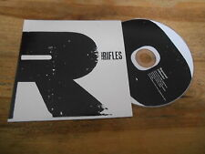 CD Pop The Rifles - Repeated / Offender (2 Song) Promo RED INK cb