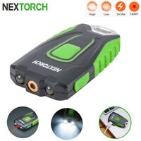 NEXTORCH Red Laser Pointer Led Keychain Light USB Rechargeable Flashlight Lamp