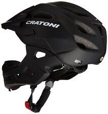 Casco bici bicicletta MTB C-MANIAC CRATONI mentoniera staccabile Tg. S-M (52-56)