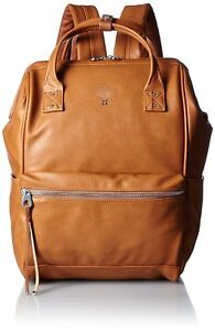 Anello Official Mouthpiece Synthetic Leather Men's Backpack AT-B1511 Camel