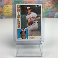 SHIPS SAME DAY 1984 Topps Baltimore Orioles Baseball Card #59 Sammy Stewart
