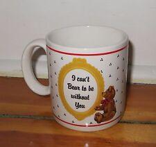 Schmid Gordon Fraser Cat with Teddy Bear 1985 coffee Mug mint