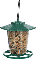 Trixie Hanging Plastic Outdoor Wild Bird Seed Feeder Lantern - Top Opening 300ml