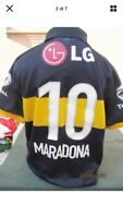 BOCA MARADONA maglia 10 Nike shirt jersey Issued game match worn Ennerre Napoli