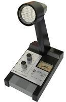 Zetagi MB+5 Verstärker-Standmikrofon & 4-pin Stecker für CB Funk