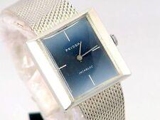HAU Art Deco PRIOSA Herren Armband Silber 835 Silver Wrist Watch um 1940