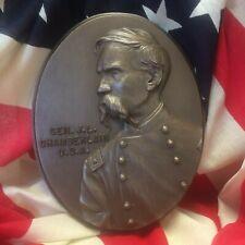 Col. Joshua L. Chamberlain – Plaque in Bonded Bronze