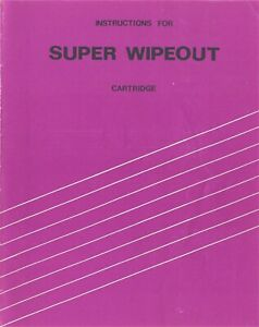 Radofin Prinztronic Acetronic Super Wipeout Cartridge User Instructions 1007