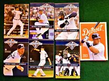(18) Different  Detroit Tigers Schedules 2013-15 Near Mint