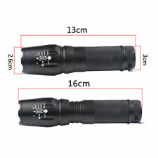 10000lm G700 Tactical Cree T6 Led Xml Military Flashlight Torch X800 Shadowhawk