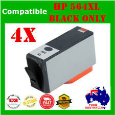 4x Ink Cartridge Black ONLY For HP564 564 XL 3520 4620 5520 7520 6520 7510 C6380