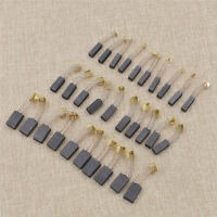 10Pcs 20mm Motor Carbon Brushes Power Hand Tools Universal Mechanical Electric