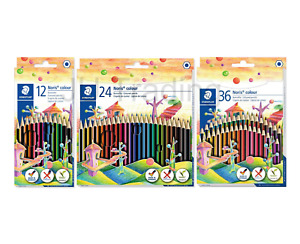 STAEDTLER Noris Colour Pencils 185 *PACKS OF 12, 24 & 36 AVAILABLE*