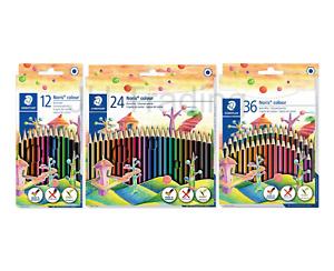 STAEDTLER Noris Colour Pencils 185 *PACKS OF 12, 24 & 36 AVAILABLE*