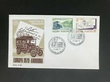 ANDORRA 1979 FDC Europe stamps - post and telecommunications
