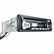 "JENSEN Phase Linear PCD120U CD FM Receiver Deck Car Radio Gray In-Dash 2"" DIN"