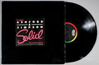 "Ashford and Simpson - Solid (1984) Vinyl 12"" Single •PLAY-GRADED•"