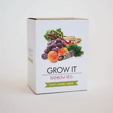 Grow It Funky Veg Plant Your Own Indoor Seeds and Planters Office Gift Set