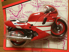 Road Champs Die-Cast 1/18 Scale Red RC10 750 Motorcycle Die Cast