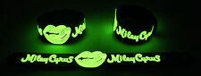Miley Cyrus nouveau! lueur dans l'obscurité bracelet caoutchouc bracelet TORPILLEUR ball gg295