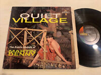 Martin Denny Quiet Village LP Liberty Stereo EXOTICA Cheesecake VG+!!!!
