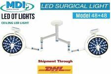 Double Satellite Lamp Surgical Operating Ceiling OT Light Operation Model 48+48