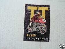 SUKERZAKJE SUGAR BAG DUTCH TT ASSEN 1960 MOTO GP WEGRACE ROADRACE A