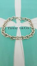 Authentic Rara Tiffany & Co Bracciale link trama grossa,