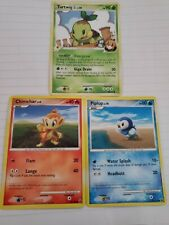 Pokemon TCG Turtwig Gym Leader's + Piplup & Chimchar - USED