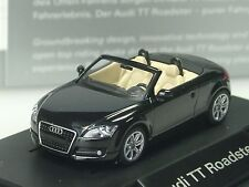 Wiking Audi TT Roadster, schwarz, dealer model, PC 532 - 1:87
