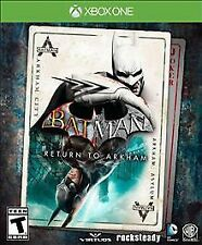 BRAND NEW Batman Return to Arkham Xbox One XB1 Factory Sealed Asylum City WB