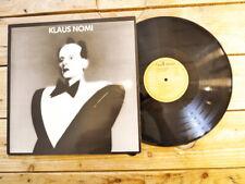KLAUS NOMI KLAUS NOMI LP 33T VINYLE EX COVER EX ORIGINAL 1981