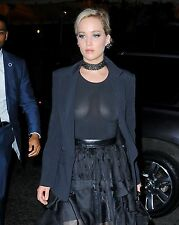 Jennifer Lawrence 8x10 See Thru Photo #2