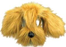 Bristol Novelty Em357 Shaggy Dog Mask With Sound on Headband Brown One Size