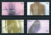 Bund 2200 - 2203 postfrisch BEM Einzelmarken aus Block 54 Gesundheit 2001 MNH
