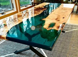 Acacia Resin table top, Epoxy Coffee table, epoxy table top, wooden resin table