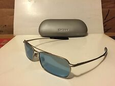 New DKNY 7265S (028) Sunglasses, Satin Palladium w/Ocean Fresh lenses