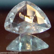 *Rarissime beryllonite taillée 0.35 carat 5.5 x 4.5 mm ! *